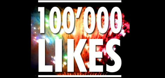 SHOE reaches 100'000 Facebook Likes